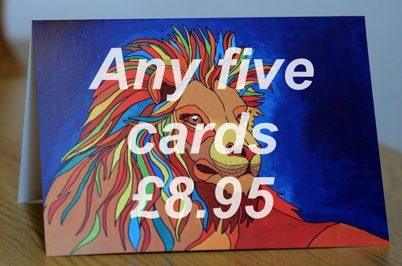 https://www. etsy.com/uk/listing/273 113138/animals-greetings-cards-mix-match-any-5 &nbsp; …  Tortleart has some fab #bright #cards in her #etsy shop!#Love them a whole lot more with a #beastie #card or #Five!<br>http://pic.twitter.com/WGOJcToQCQ