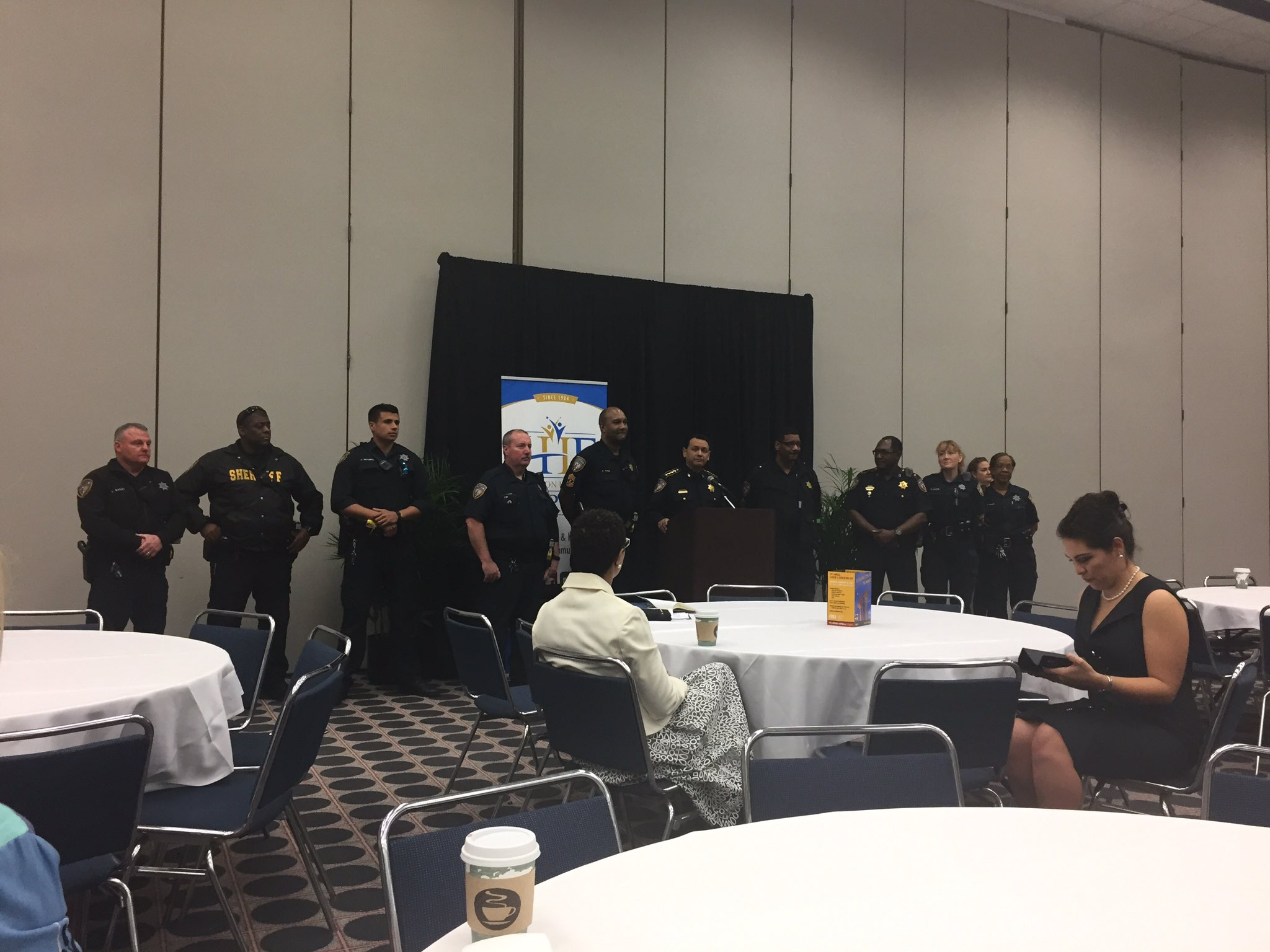 Harris county sheriff dept. well represented at #cedhou #futurehouston https://t.co/pLY9EsDyXB