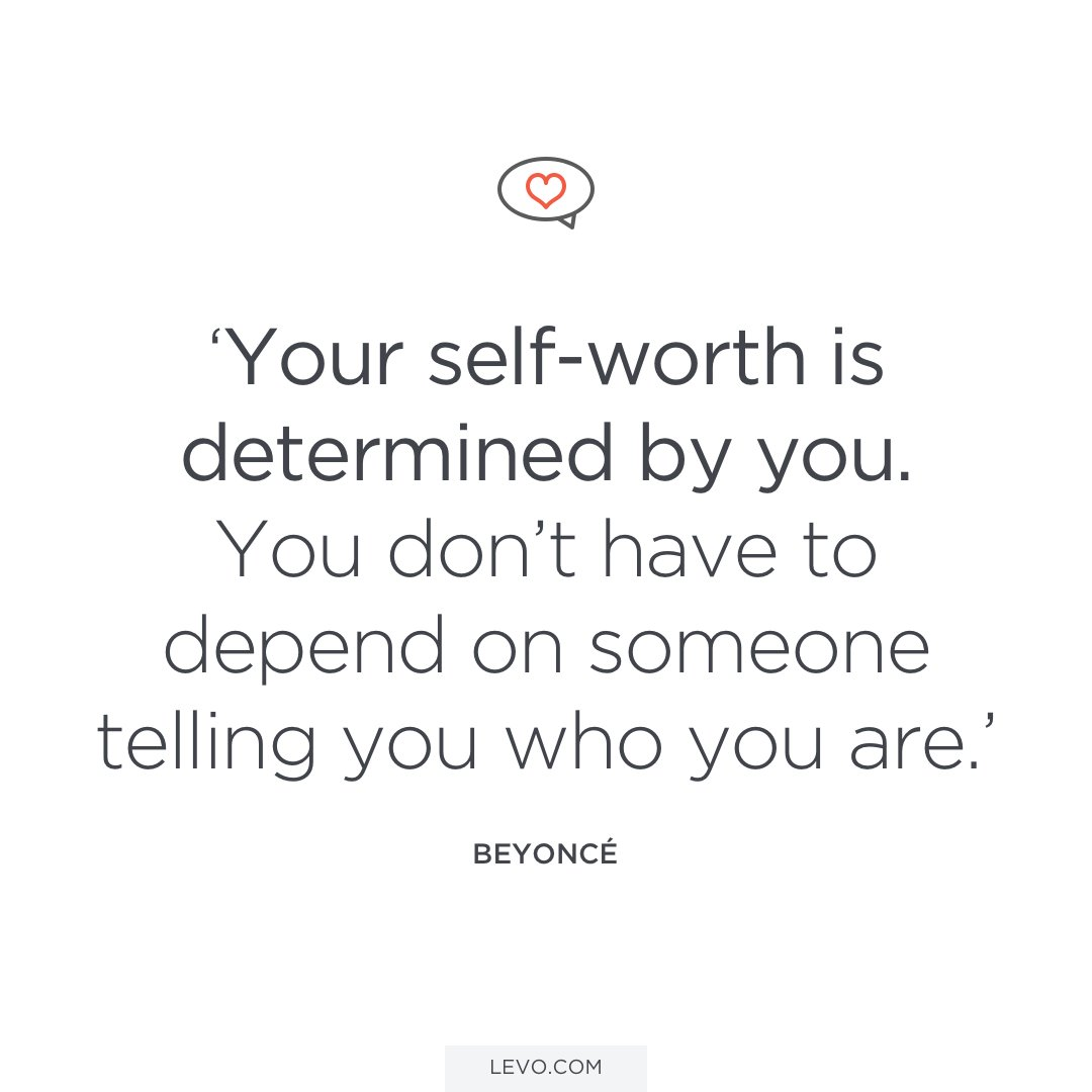 """So Happy Quotes Levo On Twitter """"quotes About Selflove And Selfworth  Beyoncé"""