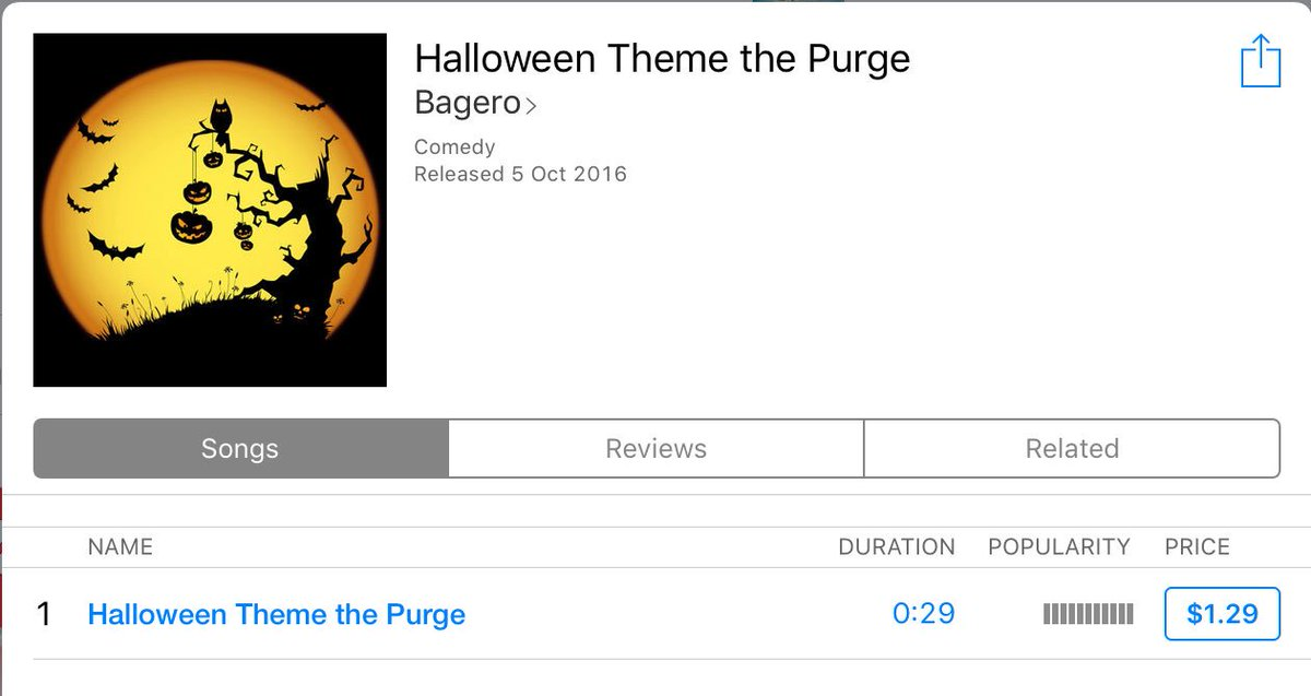 dr ringtone on twitter halloween theme the purge httpstcoaqv9mdp5yc halloween itunes trap applemusic ringtones