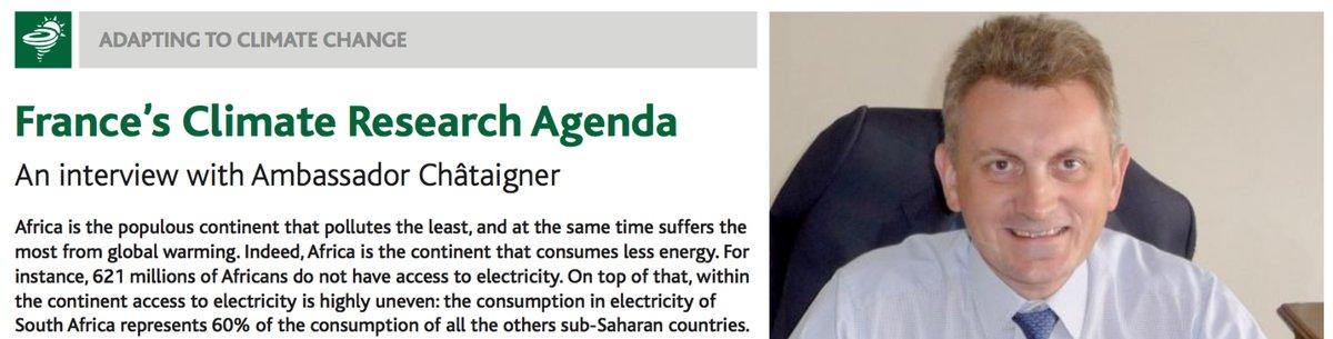 France&#39;s #Climate Research Agenda AR3 Interviews Jean-Marc Châtaigner (#France&#39;s Fmr Ambassador to #Madagascar) More: https:// africar3.com  &nbsp;  <br>http://pic.twitter.com/UzSMWbhEmE