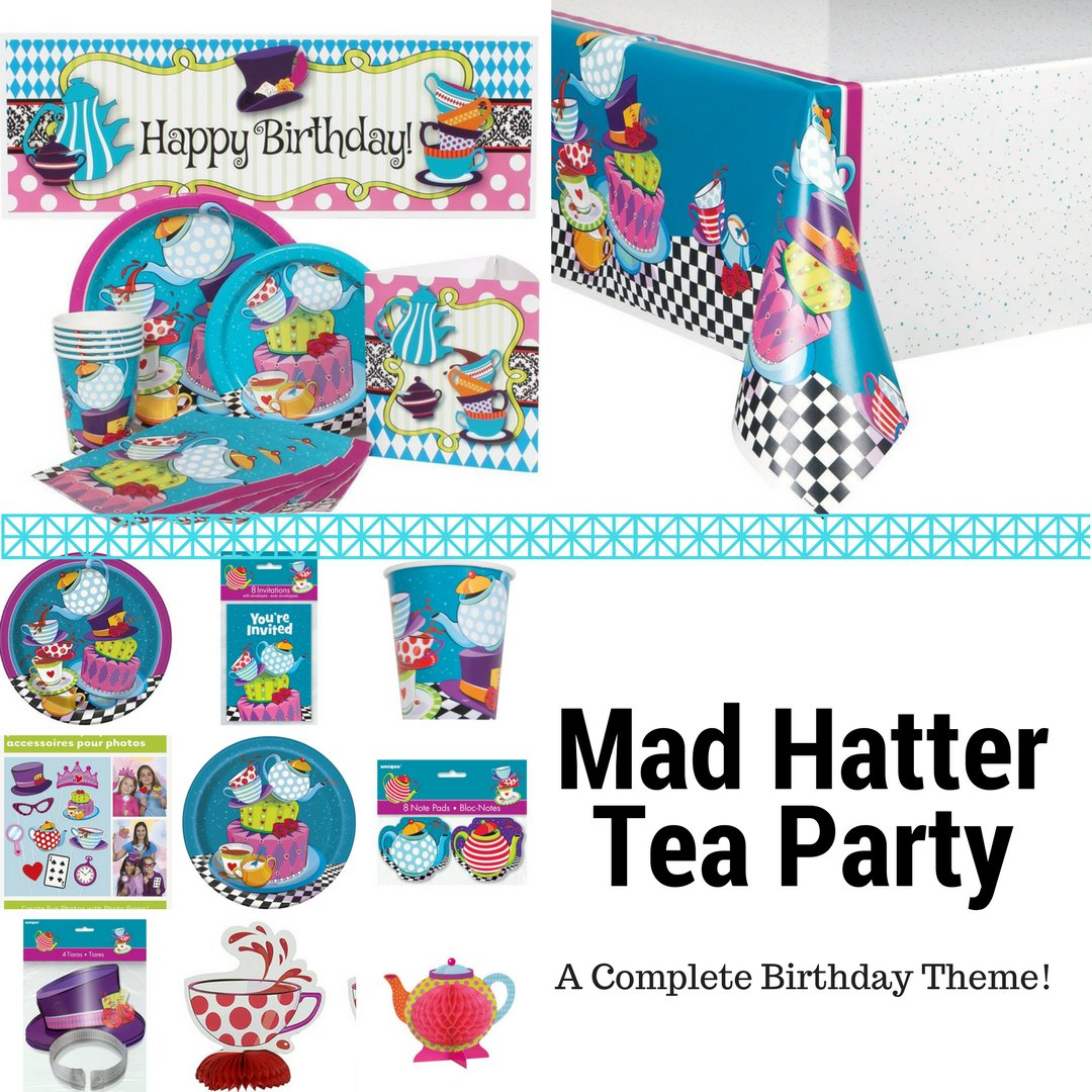 Mad Hatter Tea Party by Unique | Birthday Wikii