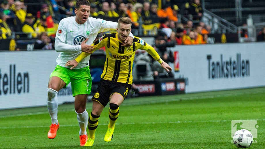 wolfsburg vs dortmund highlights