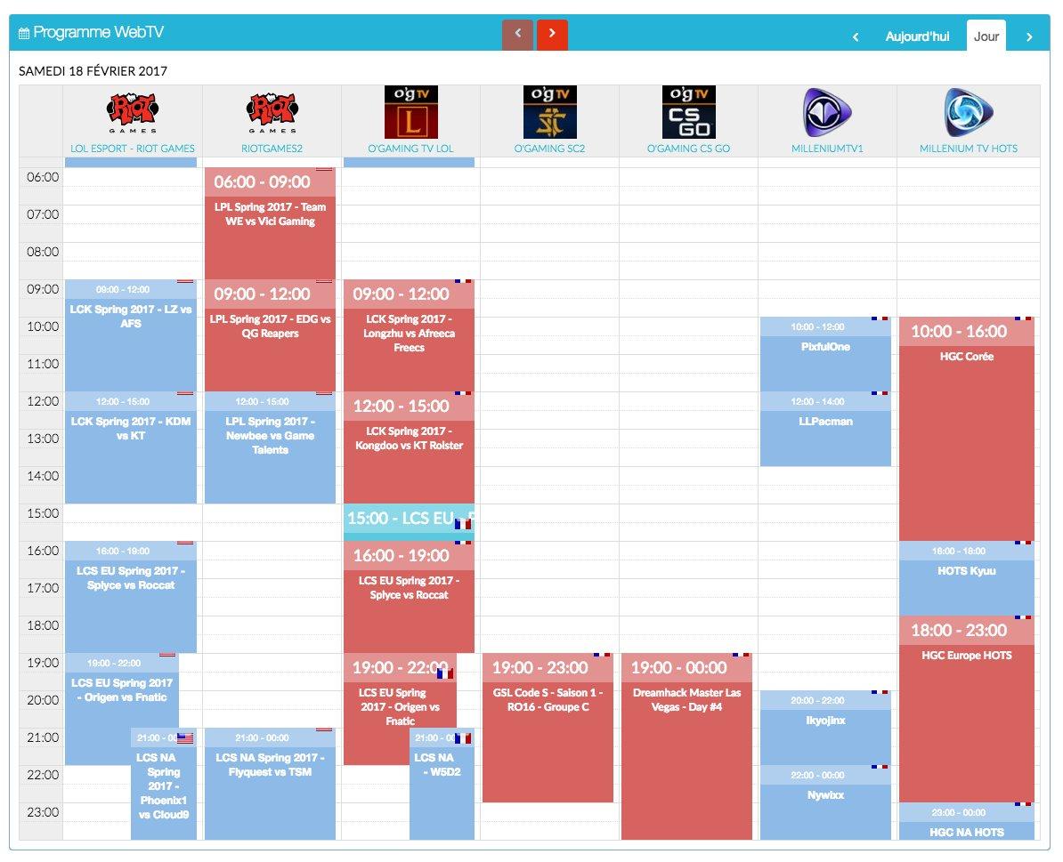 Tous les #programmes du week-end !   http://www. programme-streaming.tv/site/web-tv-ch annels-guide &nbsp; …  Amusez-vous bien devant vos #WebTV ! #planning <br>http://pic.twitter.com/irMpSqZwxw