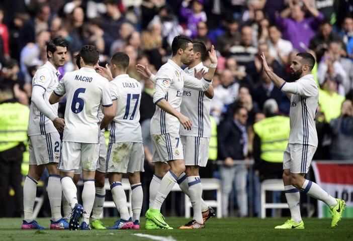 هدف ريال مدريد الاول في مرمى إسبانيول