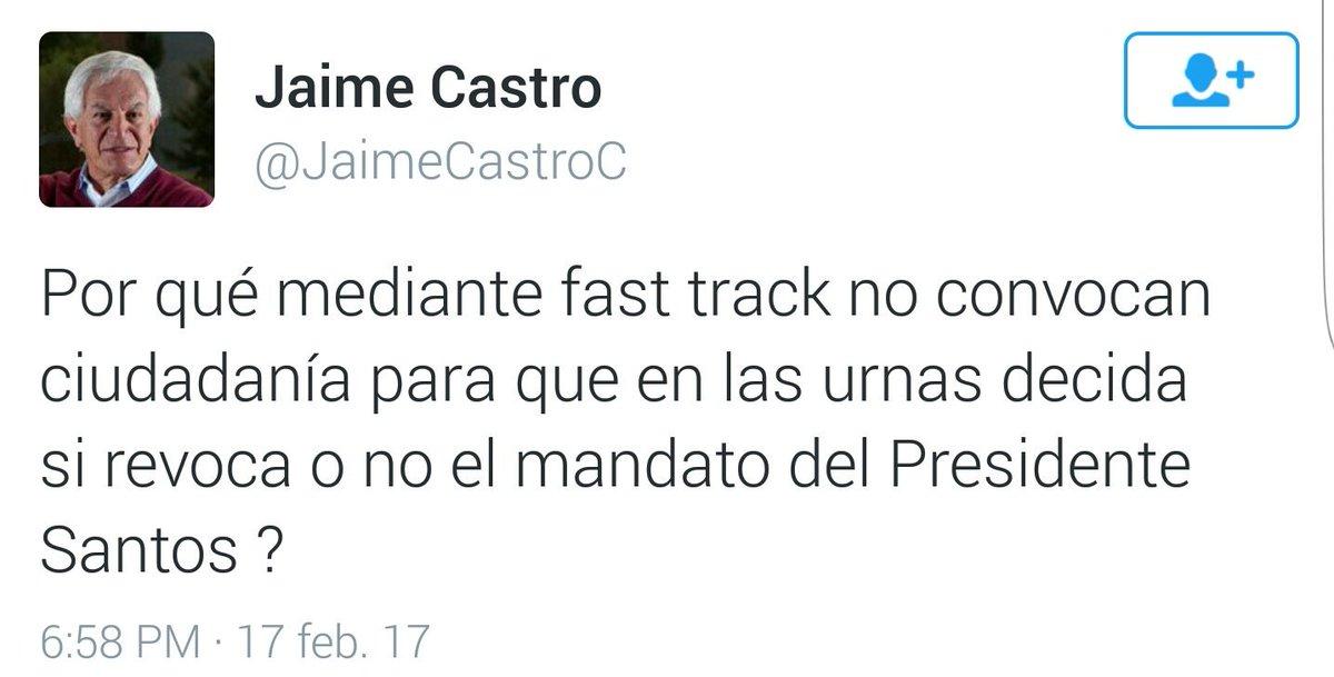 Muy buena idea @JaimeCastroC, eso sí que traería paz a Colombia. El pa...