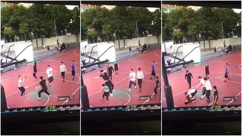 【影片】看著讓人痛心!大陸少年打球不慎嚴重受傷 大家打球一定當心身體