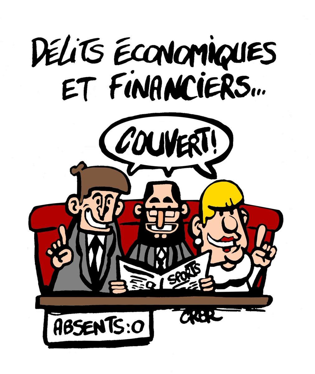 #dessindujour Délits économiques et financiers  http:// dessinsdecrbr.over-blog.com  &nbsp;  <br>http://pic.twitter.com/dHutrLM6vi