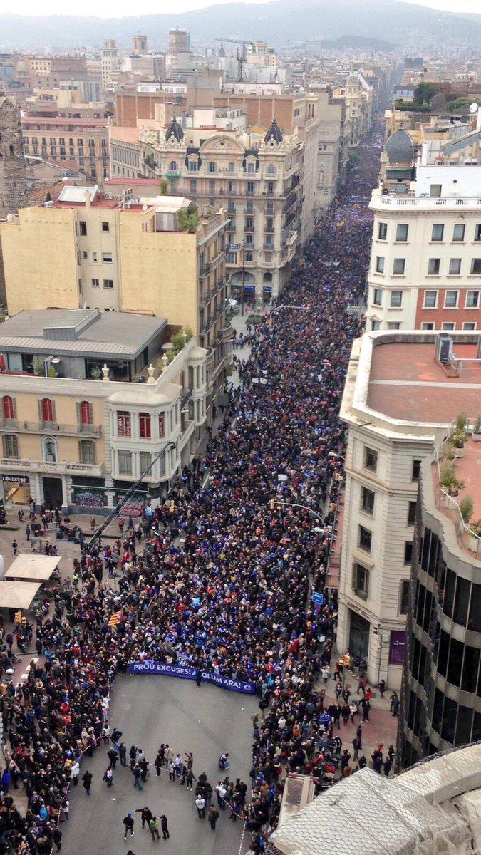 Ho hem fet, la manifestació més gran pels drets de les persones refugiades!