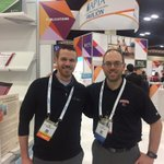MSS therapists @eric_folmar11 and @Lukelbrisbin keeping up the with latest therapy research at #APTACSM @APTAtweets