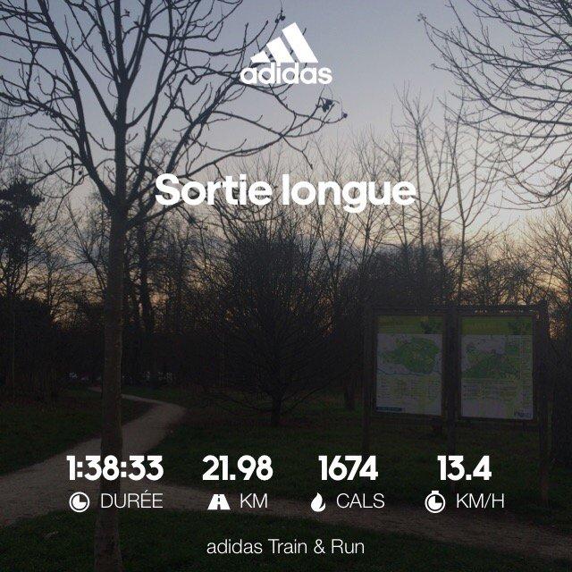Sortie longue au bois de Vincennes #whyirunchampselysees #adidasrunners #Marathon #ParisMarathon #mp2017 #paris<br>http://pic.twitter.com/aDWJfxcK2Y