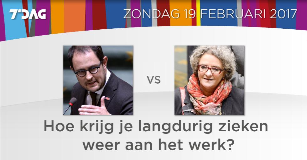 Een debat met @VincentVQ van @openvld en @MonicaDeConinck van @sp_a in...
