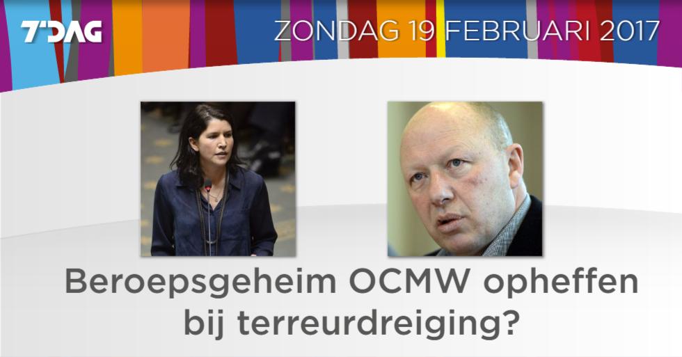 We debatteren er in #7dag over met @valerievanpeel van @de_NVA en Hans...