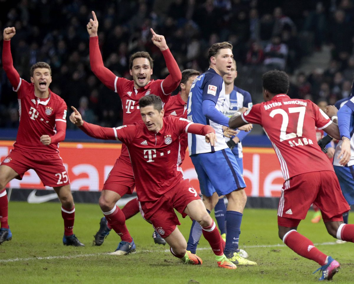 Video: Hertha BSC vs Bayern Munich
