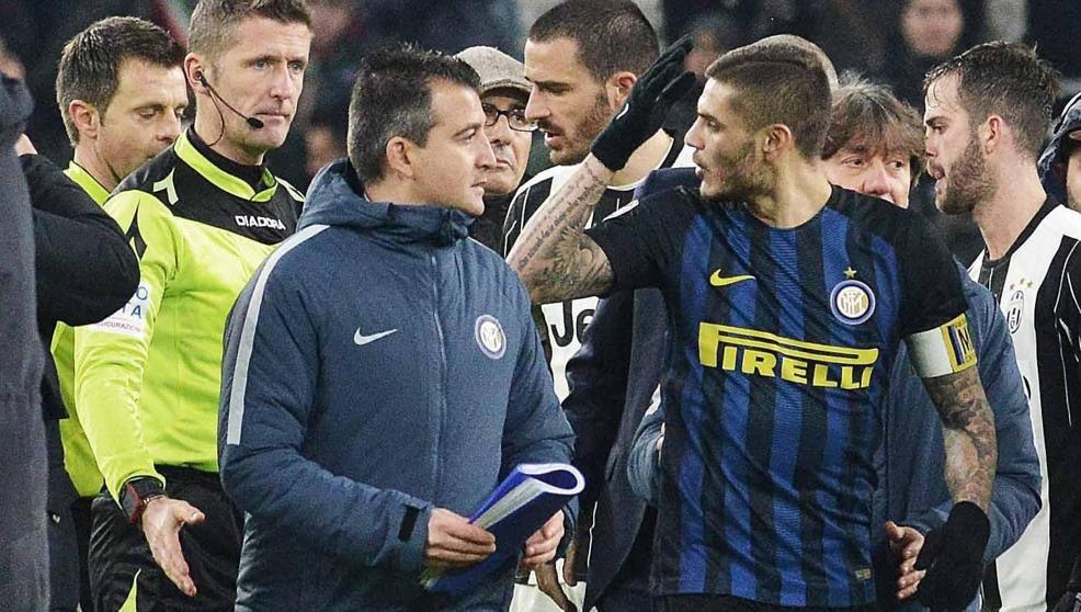 Juventus-Inter 1-0, post-partita di fuoco con Icardi e Perisic