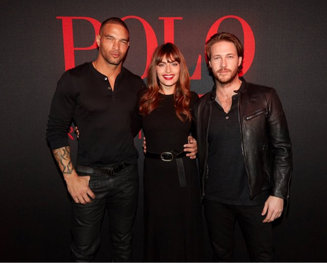 At the launch party for #PoloRed and #PoloRedExtreme! So great to be a part of this campaign with @RalphLauren Fragrances #Ad
