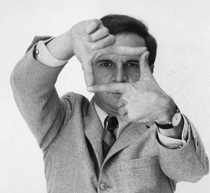 Happy birthday, François Truffaut! Born on this day in 1932.