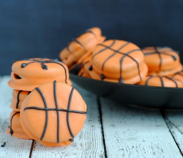 March Madness Recipe: Slam Dunk Basketball Cookies
