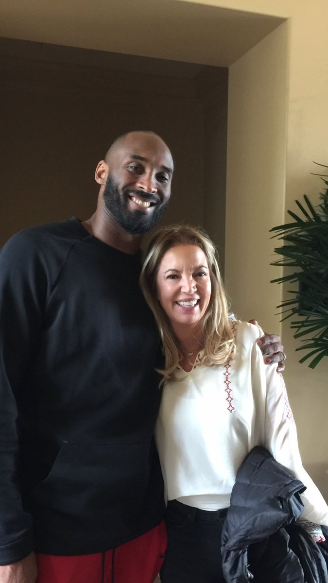 Wanted to thank @kobebryant for spending time with me last week. Nothing more inspiring than #MambaMentality