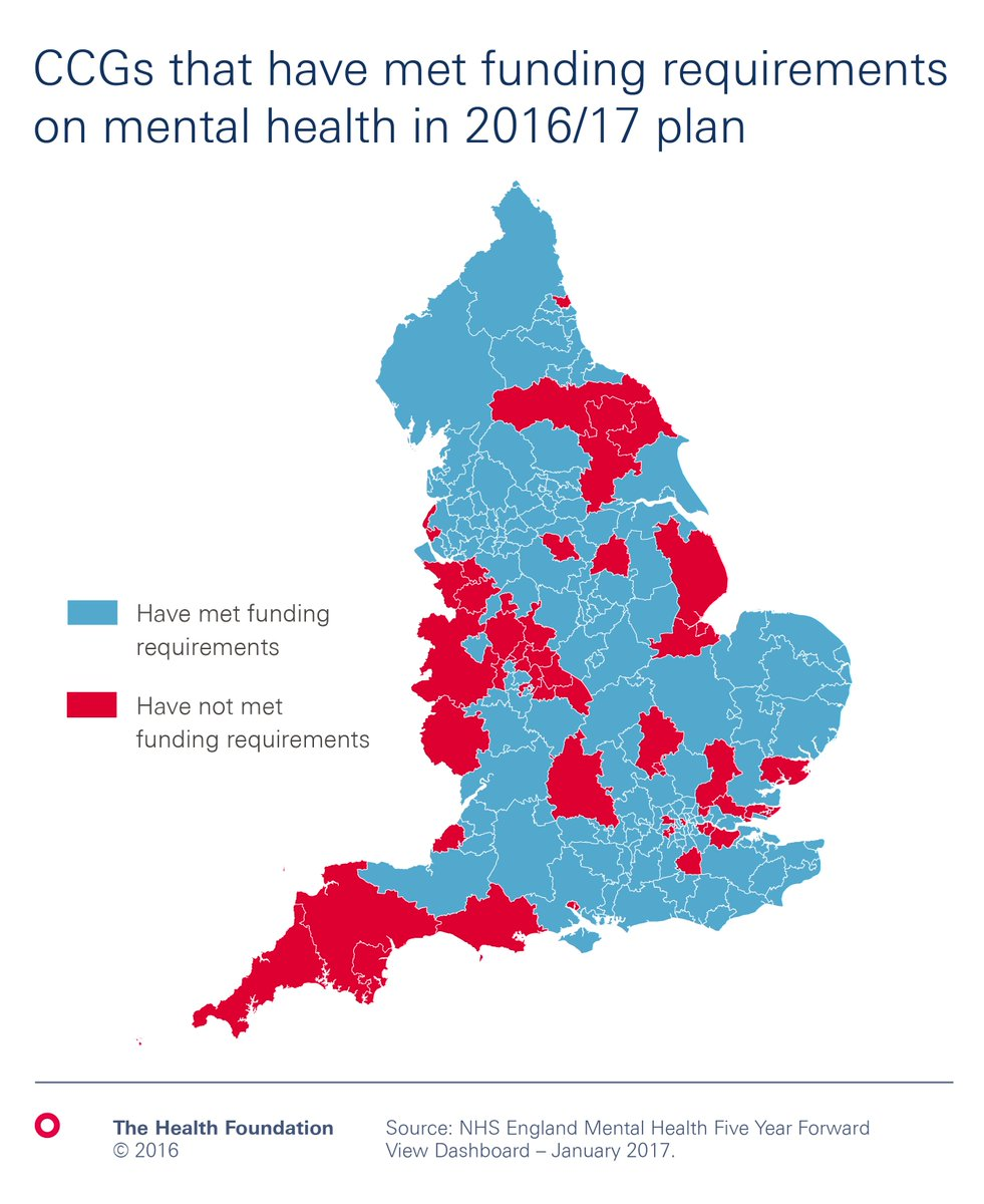 Our analysis shows funding for #MentalHealth varies by region. Watch #BBCPanorama now on @BBCOne to find out more. https://t.co/yLWHfDviQS