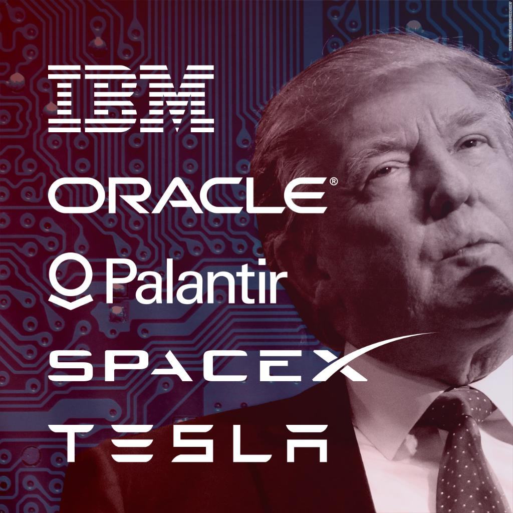 Tesla, Oracle, and IBM are among the holdouts in the latest legal battle with Trump:
