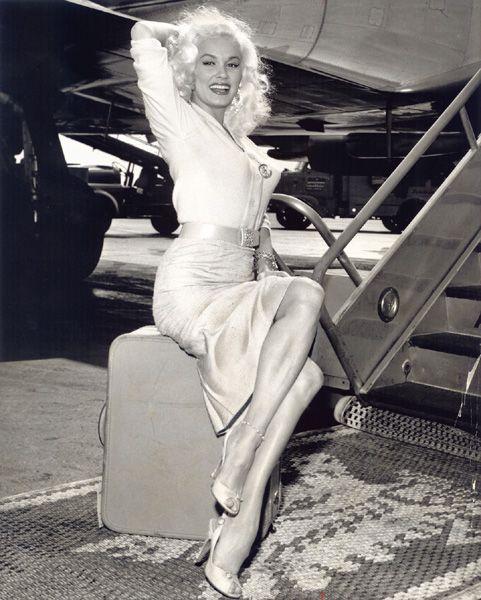 Happy Birthday to cinema\s greatest blonde bombshell bad girl, Mamie Van Doren.