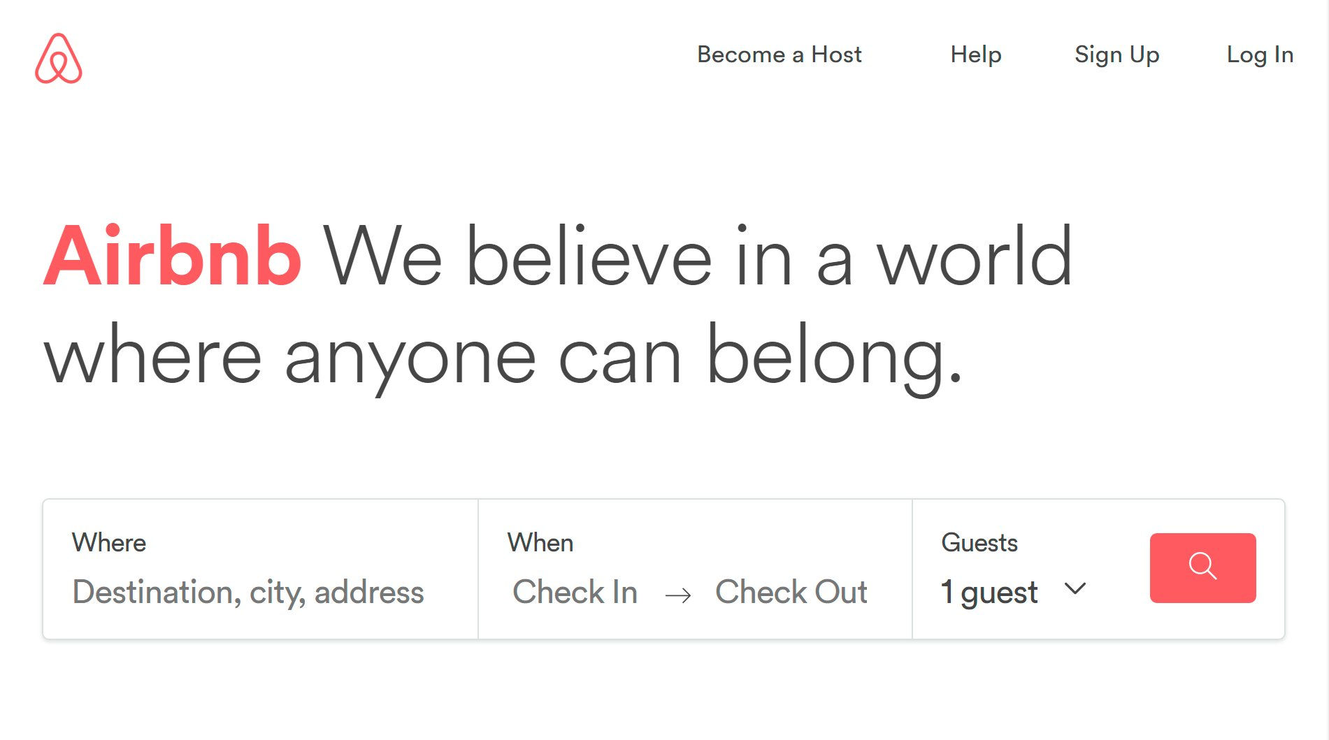 """Pockethunt on Twitter: """"Well this isn't far from what our slogan could be. Good work and good cause @Airbnb #weaccept #pockethunt… """""""