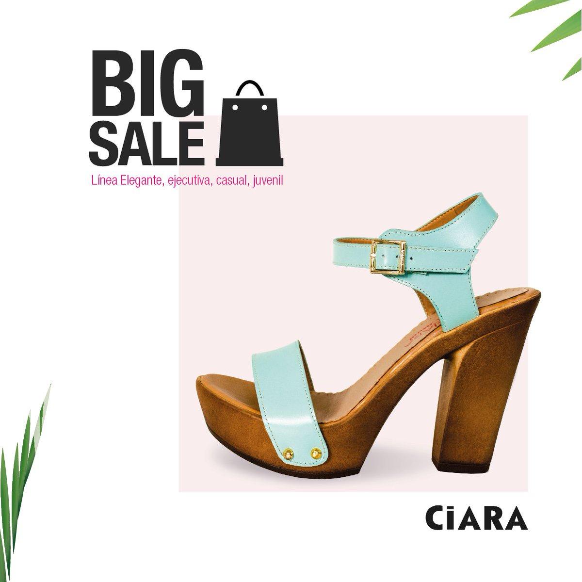 Descuentos de Verano en #CiaraCalzados Encuentra nuestra #lineacasual en todas nuestras tiendas #BigSale 👠 😍😱