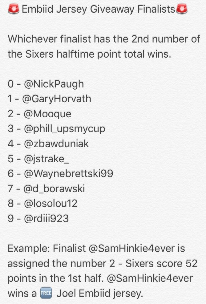 Did the Sixers Win  on Twitter