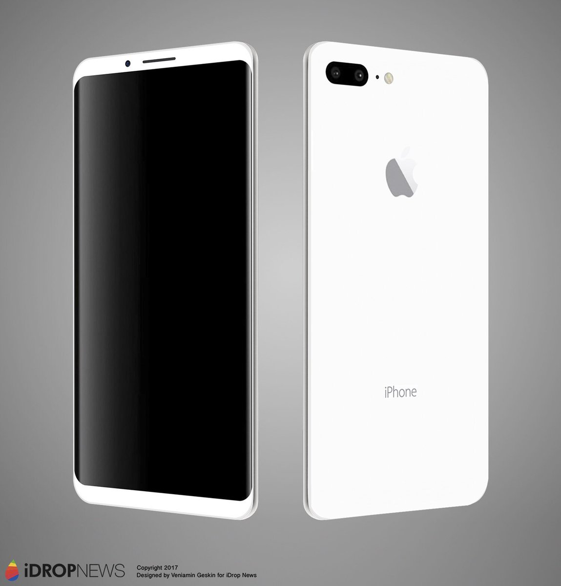 Ben Geskin On Twitter Latest IPhone 8 Concept Your Thoughts Will You Be Satisfied With This Design IPhone8