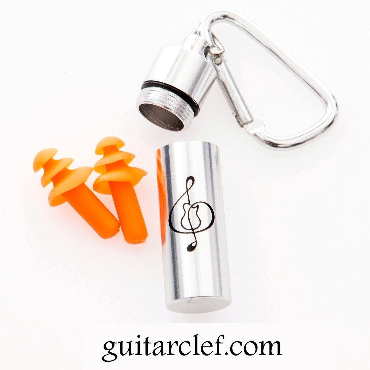 Clip to your gear...Save your ears! #clip-on canister with #earplugs! $10 #protection #livemusic #luthiers #techs #saveyourears #musicgifts<br>http://pic.twitter.com/gkVO25uBzk