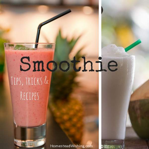 Basic Smoothie Tips