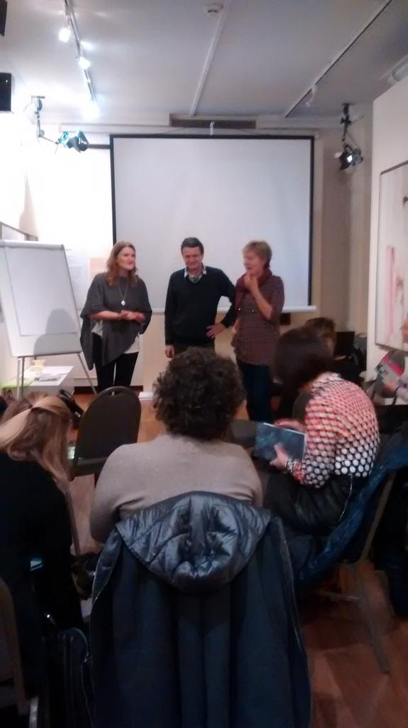 Starting the value creation workshop with Bev & Etienne Wenger-Trayner as part of #TAEAthens https://t.co/MchmR9sOsC