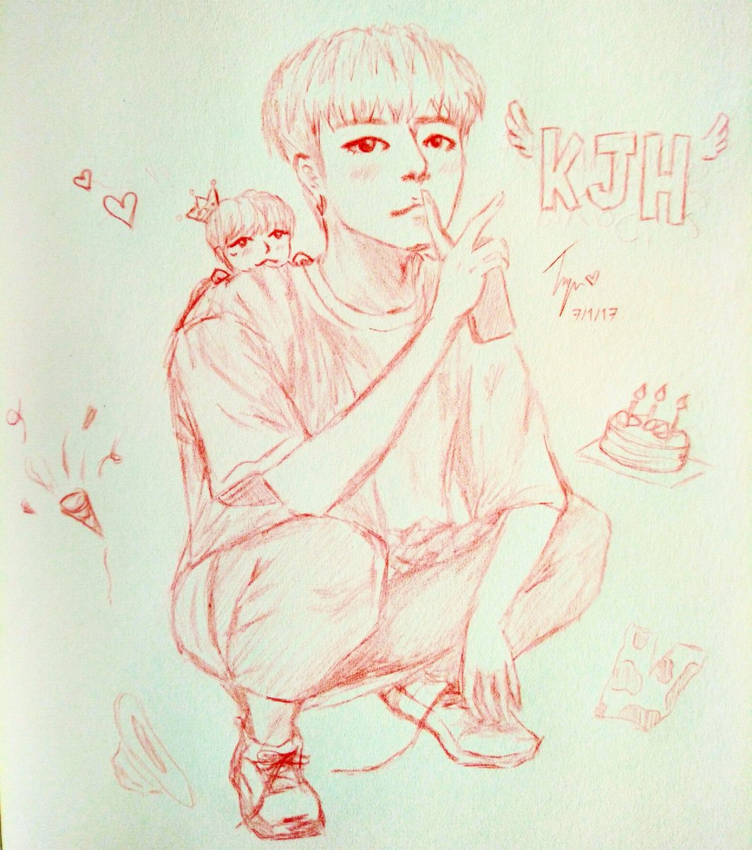 Happy Birthday Little JINNY DAY #iKON #Jinhwanderfulday #jinhwan #fanartikon #Junhoe #withikonic #junhwan<br>http://pic.twitter.com/CZgrcdT9YB