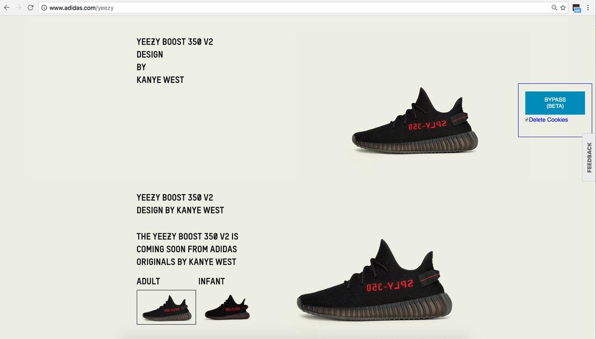 adidas splash page bypass