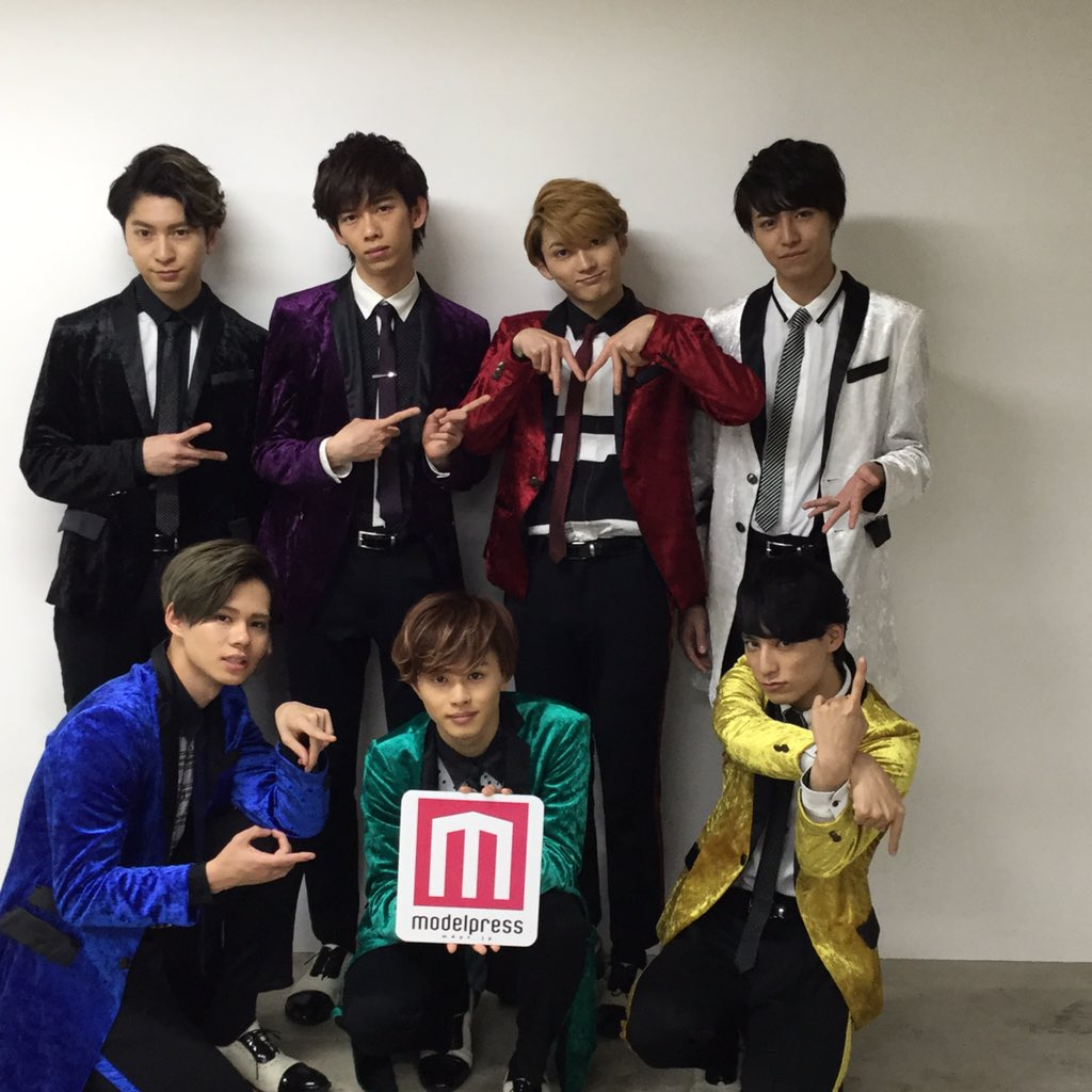 超特急の7人がモデルプレスに😍近日配信のインタビューをお楽しみに💕 mdpr.jp/model/de…