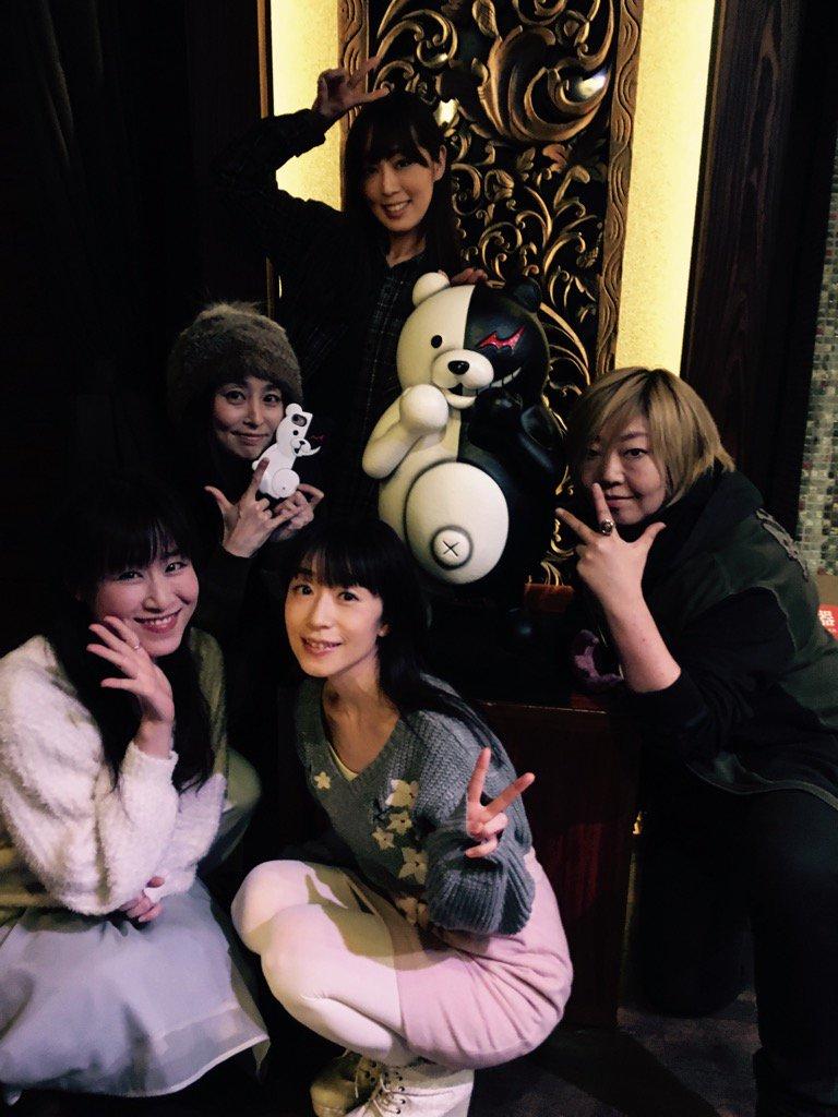 「ニューダンガンロンパV3」打ち上げ! …を記念して初期メンバー女子にてパチリ☆(この写真upは許諾…