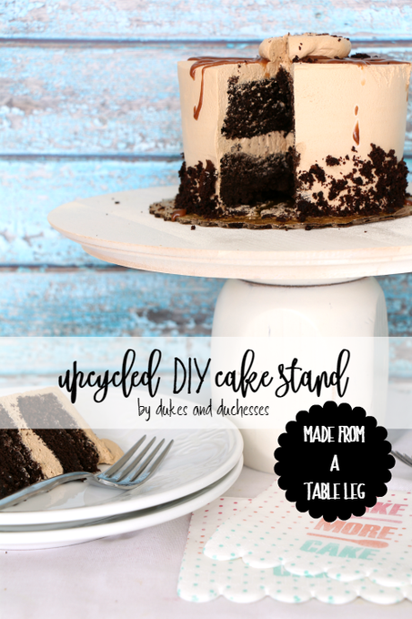 Upcycled DIY Cake Stand