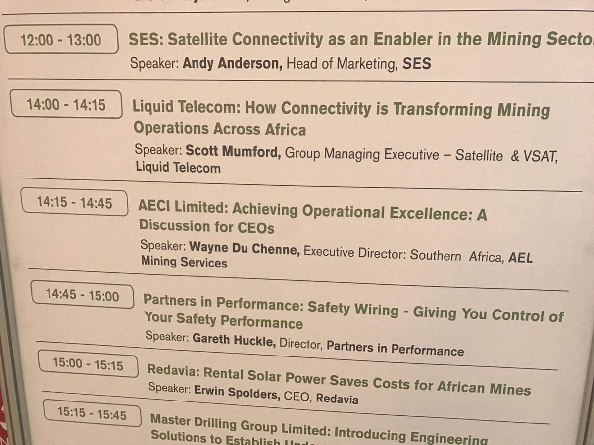 Ael Mining Services On Twitter Remember To Join Wayne Du Chenne Taco Power Head Wiring This Afternoon At 1415 The Indaba For A Discussion Our Value Proposition