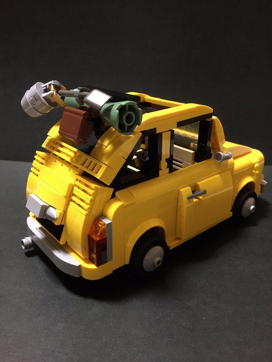 レゴ フィアット 500