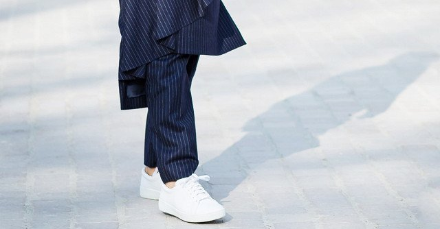 The One Sneaker Style That Adds Polish to an Outfit