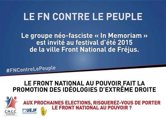 """Présidentielle : des associations lancent une campagne pour dénoncer """"le vrai visage du #FN""""  https://t.co/1DULN3SaeC via @europe1 https://t.co/Kld1hhbJSv"""