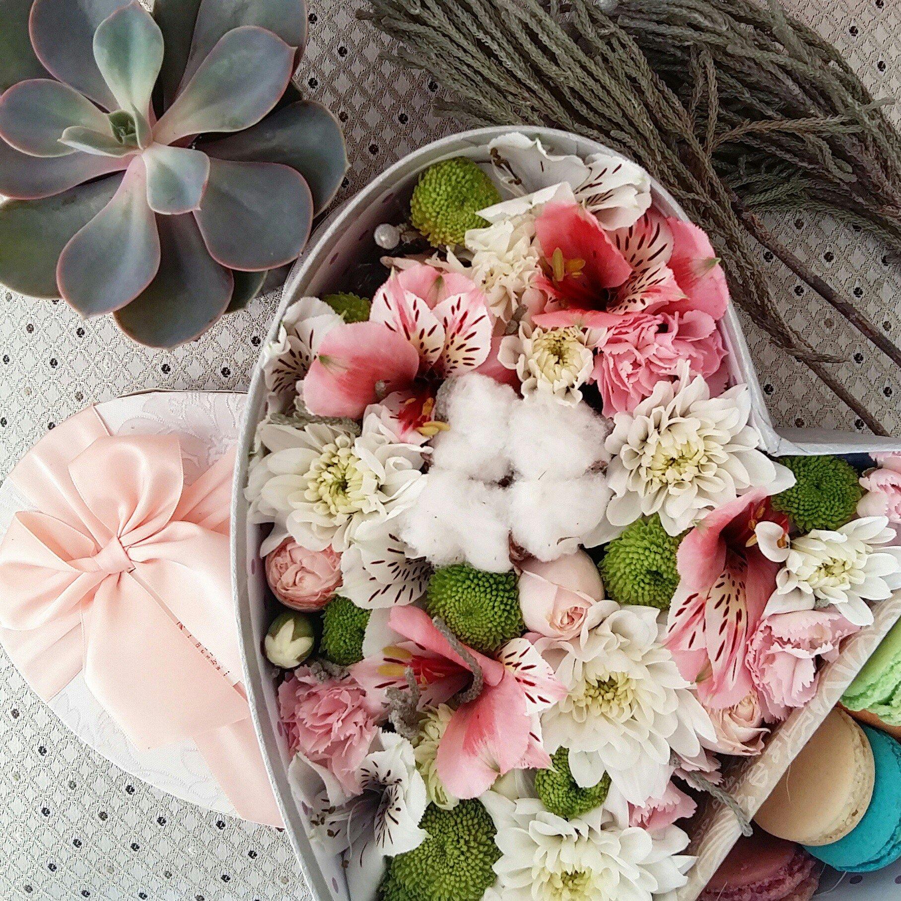 Букет цветов розыгрыш