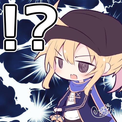 まさかの自分のオルタに、動揺を隠せない謎のヒロインX  #FateGO