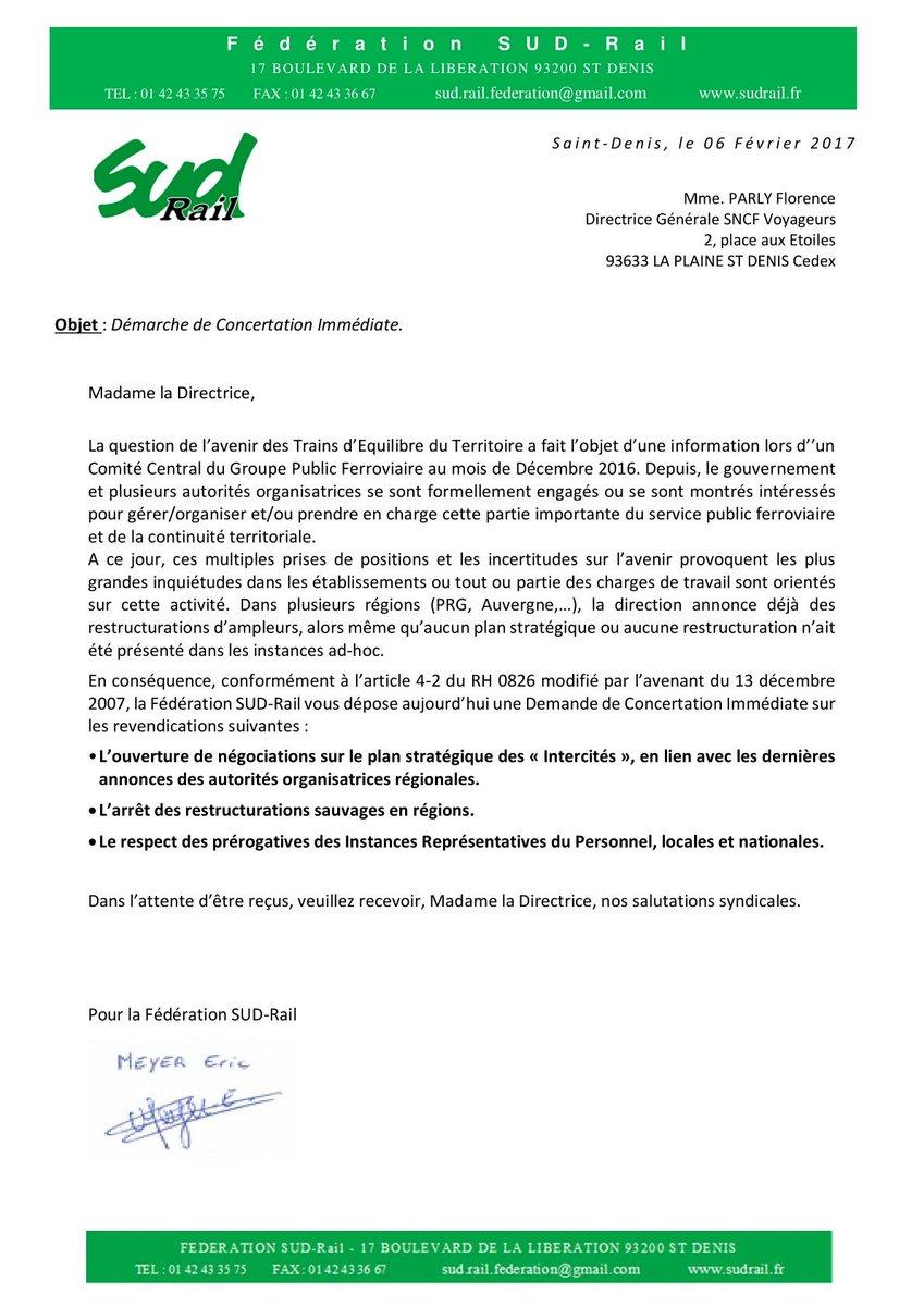 #DCI fédérale #Intercites du 6 février 2017 #negociations #restructuration respect des #IRP #TET #SNCF<br>http://pic.twitter.com/JIEqsPsqy4