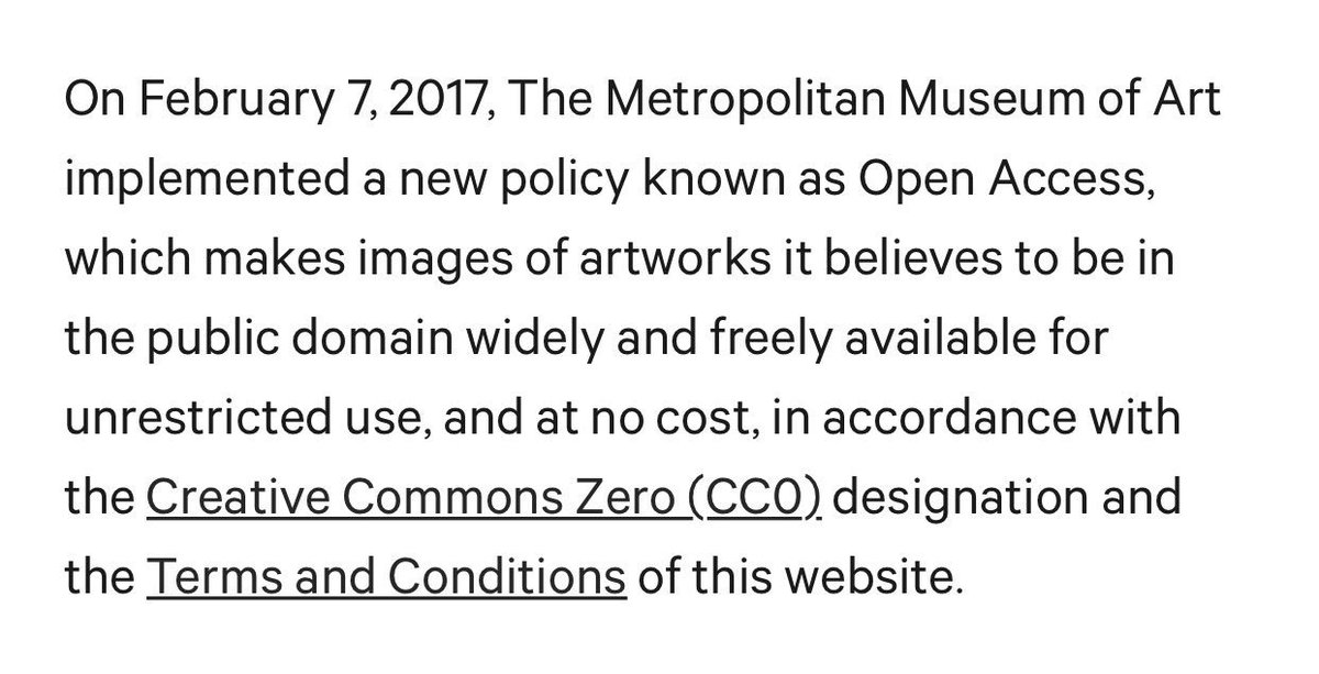 Holy smokes @metmuseum! 375k images?! this is so! freaking! exciting!