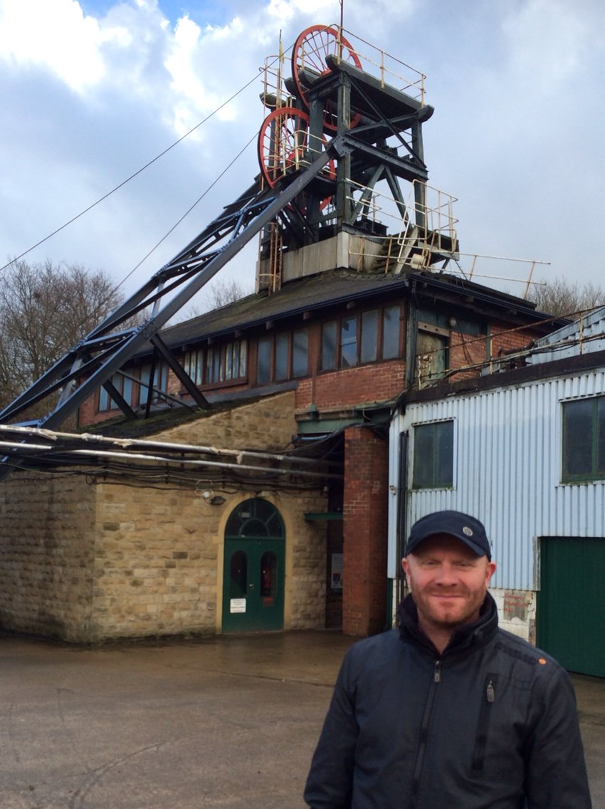 Site visit with Gary Clarke Co to the National Coal Mining Museum @Coaltour #wtpbehindthescenes @NCMME https://t.co/tktXctrjqe