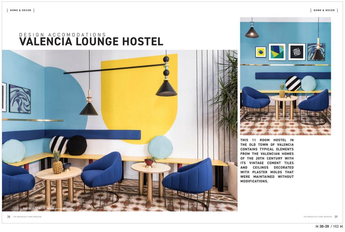 Valencia Lounge Hostel : Valencia lounge hostel spain hostel room europe