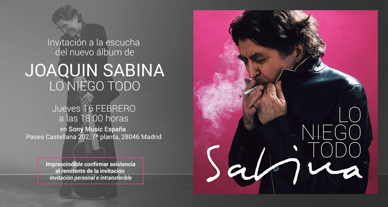 Primeras Impresiones De Lo Niego Todo De Sabina