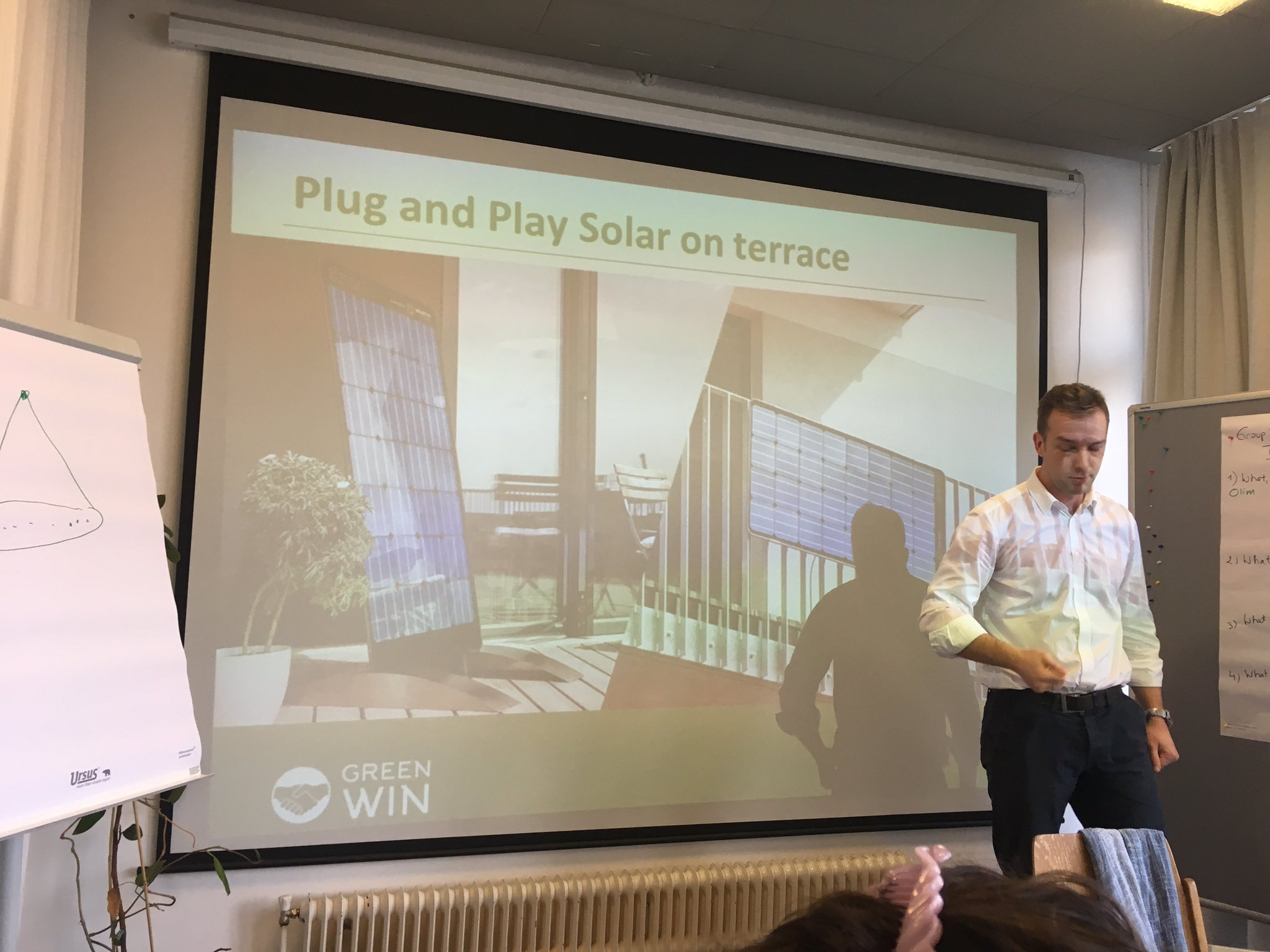 Plug&Play solar system? Yes - it is  possible!!! New ideas, technologies, cooperation models shared at GREEN WIN Workshop @greenwinproject https://t.co/aTZtmbshdc